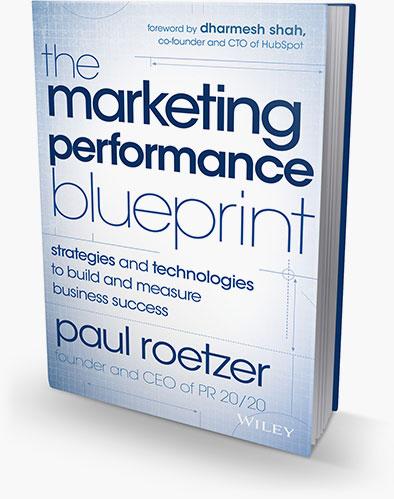 Marketing Performance Blueprint book