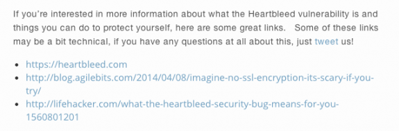 Buffer Heartbleed Resources
