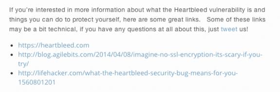 Buffer Heartbleed Resources