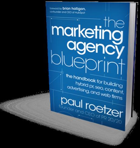 Marketing Agency Blueprint cover