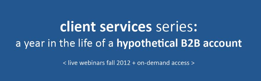 PR 20/20 client services series