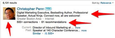 Chris Penn LinkedIn Tips for Personal Branding
