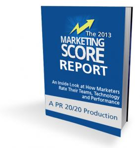 2013 Marketing Score Report