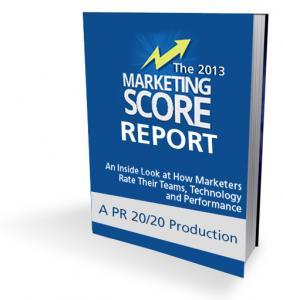 2013 Marketing Score Report