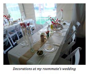 roomie wedding