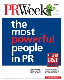 PR Week Power List 2010