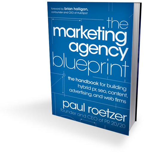 Marketing Agency Blueprint book