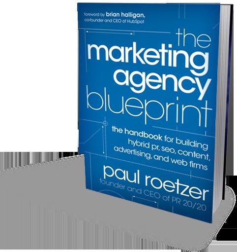 Marketing Agency Blueprint book