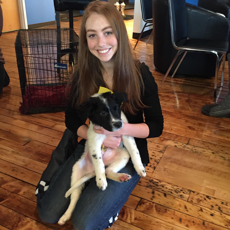 Allie+Dog
