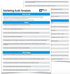 Comprehensive Marketing Audit Template