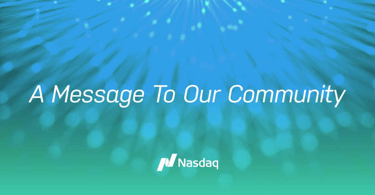 Nasdaq LinkedIn Message
