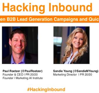 Webinar: Hacking Inbound